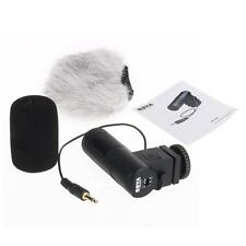BY-V01 Camera Video Stereo Windproof Condenser Microphone For Canon Nikon Set