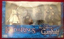 Lord Of The Rings Two Towers The Return Of Gandalf Box Set Toybiz *NEW*
