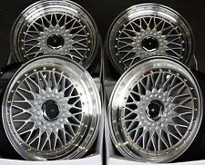 "16"" STAGGERD RS GS ALLOY WHEELS FITS 5X100 AUDI VW CRYSLER SEAT SKODA TOYOTA"