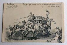 CPA. Illustrateur Albert FEUILLASTRE. Le Cheval.1. BUFFON. Fraudeurs du Lait