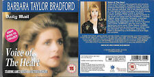 1 Newspaper promo DVD VOICE OF THE HEART barbara taylor bradford lynsay wagner