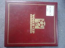 football world cup italia 1990 folder + stamps