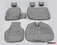 DIMOND Kunstleder Schonbezüge Sitzbezug Sitzbezüge (Grau-Blau ) VW T5 T6 2+1