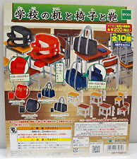 Japan School Desk Chair Bag Complete 10pcs - Epoch Gashapon    , h#2