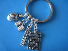 Civil Engineer Keyring Engineering Graduation Gift Civil Engineering Keychain