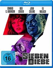 SEVEN THIEVES - Blu Ray Region B/UK - Edward G.Robinson, Joan Collins