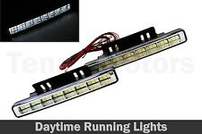 2pcs x 24 LED Xenon White Front DRL Daytime Running Lights Fog Lamps E4 029-2