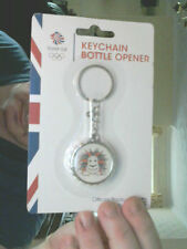 TEAM GB PRIDE THE LION KEY CHAIN & COCA COLA STYLED BOTTLE OPENER  GREAT  GIFT