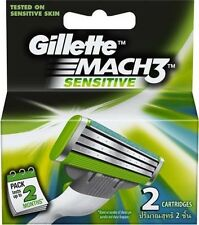 Gillette MACH3 Sensitive Blades 2 Cartridges Pack
