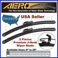"AERO 19"" + 19"" ALL SEASON PREMIUM OEM BRACKETLESS WINDSHIELD WIPER BLADES (2PCS)"