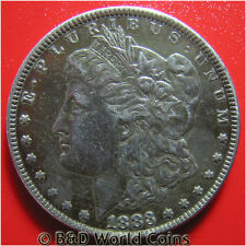 USA 1883 MORGAN SILVER $1 DOLLAR FULL LIBERTY HEAD 38mm US COLLECTABLE COIN