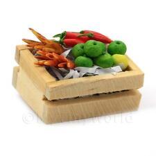 Miniatura Para Casa de Muñecas Cuna de Combinadas Para verduras