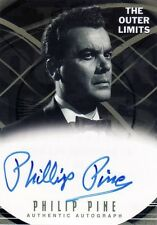 Outer Limits Premiere Philip Pine as Theodore Pearson A13 Auto Card