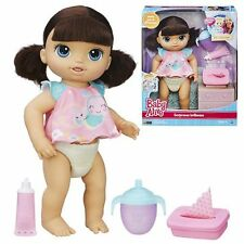 Baby alive scintillant vu n tinte brunette interactive doll-new in hand
