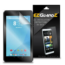 2X EZguardz LCD Screen Protector Cover HD 2X For Mach Speed Trio Stealth G4 7""