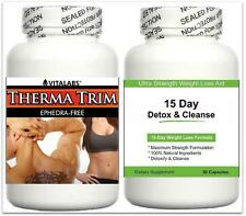 Detox Cleanser Fat Burner Diet Pills Lean Muscle Strong Fat Loss Abs Growth Aid