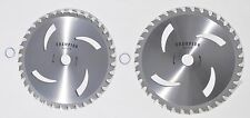 "2 pk 10"" Carbide tipped brush cutter blades for almost all brands of trimmers"