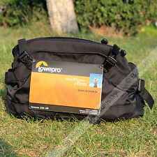 Lowepro Inverse 200 AW DSLR Camera Photo Waist Packs Bag with All Weahter Cover