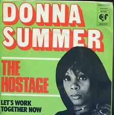 7inch DONNA SUMMER the hostage HOLLAND 1974  EX +PS