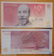 ESTONIA Paper Money 10 Krooni  2007 UNC