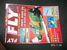 Revue FLY n°17 Plan encarté BD 5 S d'A Bellec / ASK 13 ASTRAL Demontage moteur