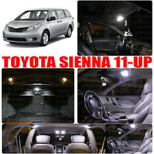 11x Interior White LED Package for 2011 & UP Toyota Sienna