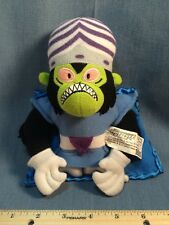 "2001 Nanco Cartoon Network Powerpuff Girls 8"" Plush Figure Mojo Jojo"