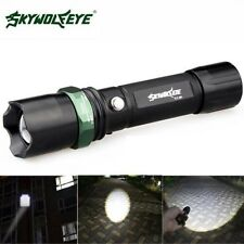 Zoomable 10000 Lumens 3 Modes CREE XML T6 LED 18650 Flashlight Lotus Head Torch