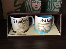 Starbucks Coffee Thailand & Pattaya Mini Espresso Global Icon City Mug 3 oz