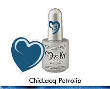 ChicLacq Petrolio Smalto Semipermanente UV GEL Soak-Off Nail Polish Unghie KyLua