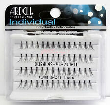 NIB~ Ardell DURALASH Flare SHORT Individual Lashes Lash Flair Eyelashes Black
