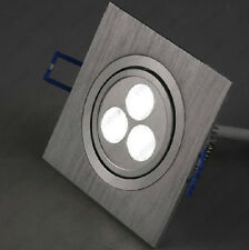 9W(3*3W) LED Ceiling Recessed Spot Light Fixture Square Lamp Store Cabinet Hotel