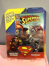 Kenner Hunter-Prey Superman and Doomsday Action Figures