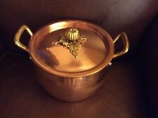 Williams-Sonoma Ruffoni Copper Pumpkin Handled Stock Pot 3 1/2 qt NEW