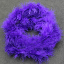 2M Fluffy Feather Boa Flower Craft For Party Wedding Dress Up Costume Decor