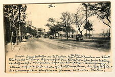 24649 PC Postcard China Shanghai The Bund 1902 AK Der Damm