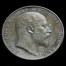 1902 Edward VII Silver Matt Proof Half Crown