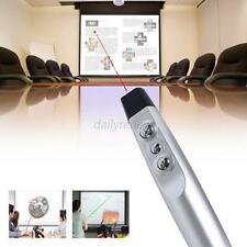 USB Wireless USB PowerPoint PPT Presenter Remote Control Laser Pointer Pen