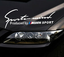 Sports Mind Decal Vinyl Car Stickers Headlight sticker for BMW auto accessories