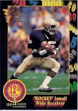 ROCKET ISMAIL 1991 Wild Card 12th National PROTOTYPE Rare SSP #1 Rarely Seen!