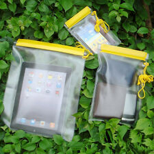 3x SIZES WATERPROOF CAMERA MOBILE PHONE POUCH DRY BAG PVC CASE for KAYAK BOAT