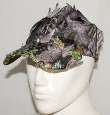 3D REALTREE CAMO HUNTING AIRSOFT LEAF NET GHILLIE HAT CAP -32549