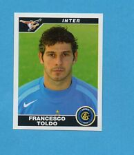 PANINI CALCIATORI 2004-05- Figurina n.149- TOLDO - INTER -NEW