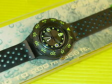 Swatch Scuba SHAMU / BLACK WAVE in NEU & OVP + neuer Batterie SDB102