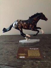 """Breyer """"Tempest"""" JAH Connoisseur Limited Edition 350 pcs. W/COA"""