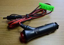 Yaesu FT60 etc power lead + switched/fused 12V 'cigar' plug and marker