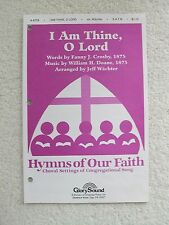 Wachter I am Thine O Lord SATB Piano 10 Copies