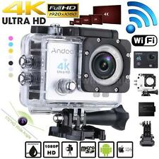 WiFi 4K HD1080P 16MP Waterproof Sport DV Video Action Camera Helm Camcorder H5E8
