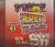 La Arroladora Banda Limon y Banda El Recodo Super Guerra De Bandas Nuevo sealed