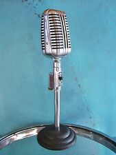 Vintage RARE 1940's Astatic WR-20 crystal microphone old antique w Snyder stand